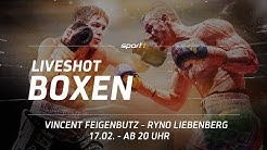ReLIVE Boxen 🔴   Vincent Feigenbutz - Ryno Liebenberg    17.02.2018   SPORT1