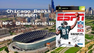 ESPN NFL 2K5 - Xbox - Chicago Bears Season - NFC Championship - Bears vs  Falcons