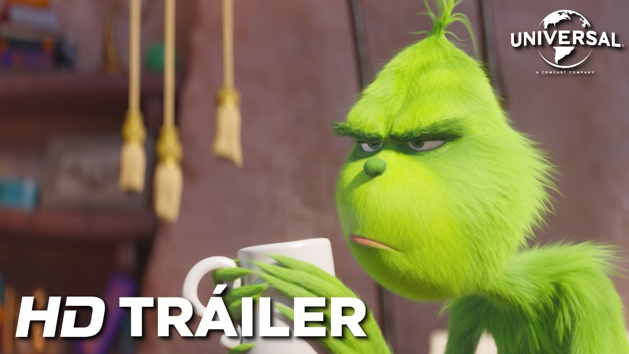 El Grinch Trailer 1 Universal Pictures Hd Youtube