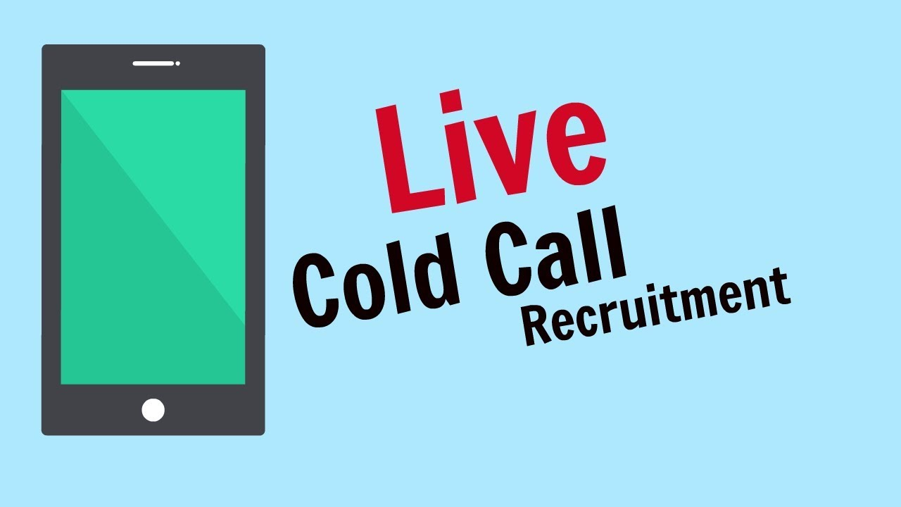 Download Recruitment Consultant cold calling live with a client - live cold call UK
