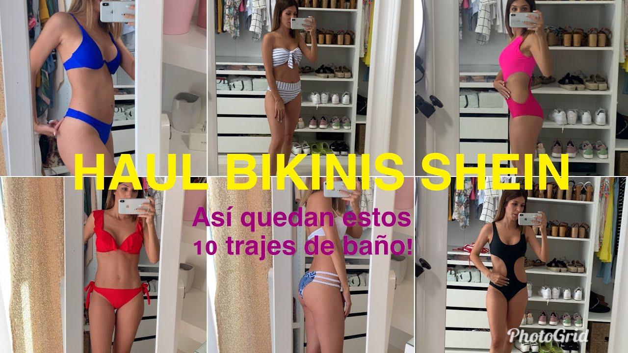 HAUL BIKINIS SHEIN + COMO ELEGIR BIEN LA TALLA
