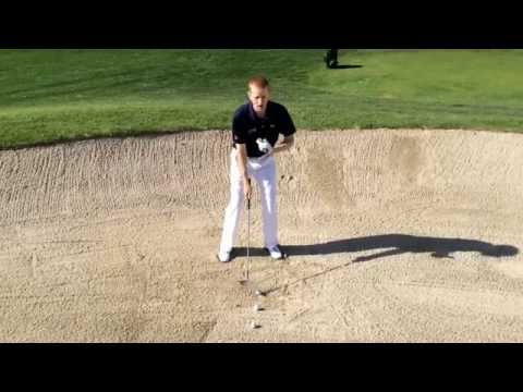 Bunker shots made easy. Just like a Pitch Shot from sand. Golf is simple.