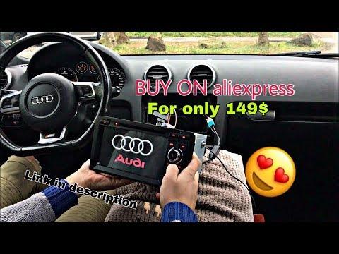 Install Navigat Dvd Gps Audi A3 8p8l Aliexpress Youtube