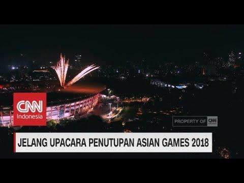 Jelang Upacara Penutupan Asian Games 2018