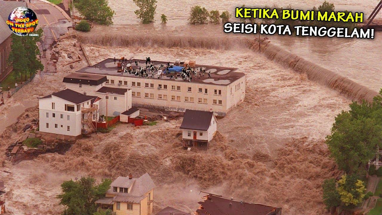 Kota² ini Disapu Banjir Bandang Hingga Tak Bersisa, Akankah Bumi Jadi Lautan Lagi? // Bencana 2021