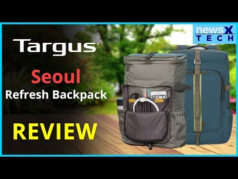 Targus Seoul Refresh Backpack Review, Targus Laptop Backpack India, Targus Best Backpack India