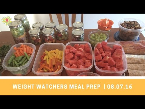 Weight Watchers Meal Prep - new recipes this week! | 08.07.16