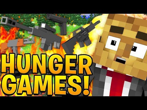 OVERPOWERED EPIC WEAPONS IN MODDED MINECRAFT HUNGER GAMES! - MINECRAFT MOD CHALLENGE