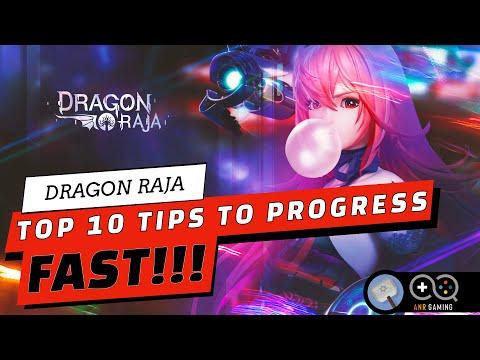 10 PRO TIPS TO PROGRESS QUICK!! : Dragon Raja