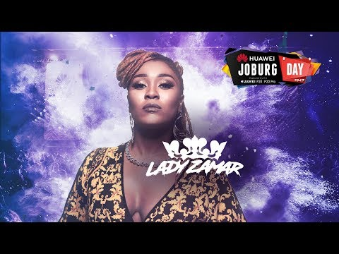 Lady Zamar at #HuaweiJoburgDay
