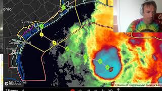 LIVE briefing on Tropical Storm BETA and recap of INSANE Hurricane Sally intercept!