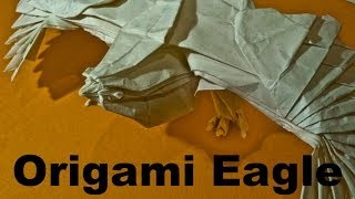 Origami Eagle by Nguyen Hung Cuong (Time Lapse)