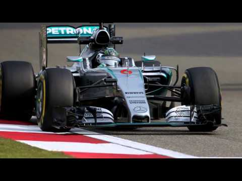 Hamilton & Rosberg Mercedes win 2015 Chinese Grand Prix F1