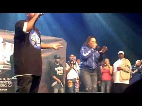 Lady Of Rage - Afro Puffs (Live @Paid Dues 2010)