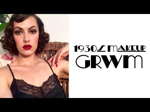 1930s Makeup GRWM⎟VINTAGE TIPS & TRICKS