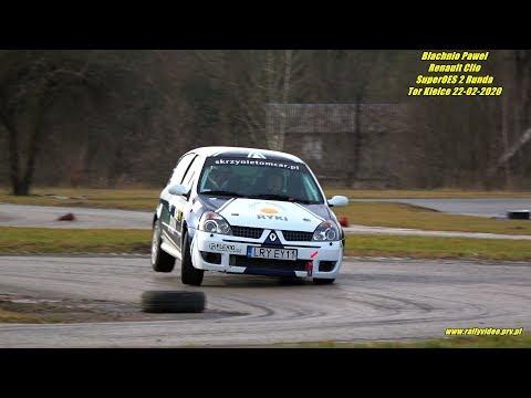 Błachnio Paweł - Renault Clio Sport - SuperOES 2 Runda Tor Kielce 22-02-2020