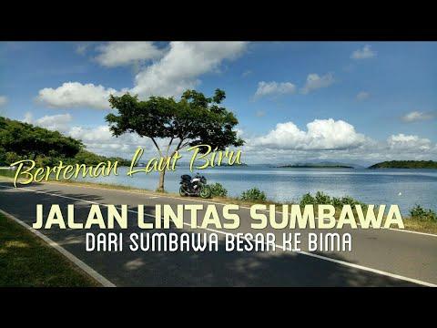 Berteman Laut Biru di Jalan Lintas Sumbawa (dari Sumbawa Besar ke Bima)