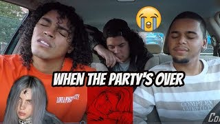 Billie Eilish - when the party's over (Audio) FIRST REACTION REVIEW
