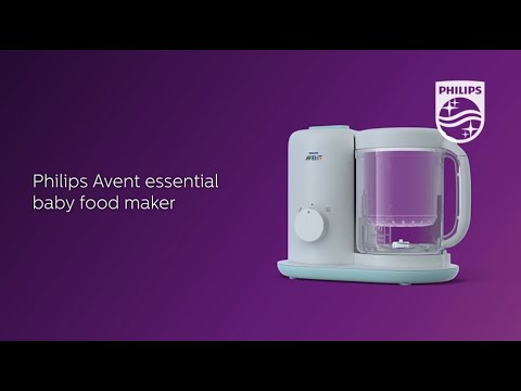 Simple Nutritious Meal - Philips Avent Essential Baby Food Maker SCF862