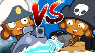 Bloons TD Battle | WHICH IS BETTER!? BLOONS SUB VS BLOON BUCCANEER! | JeromeASF