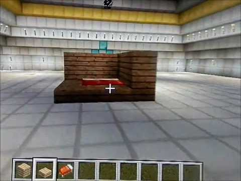 tuto 6 comment faire un passage secret dans un lit minecraft youtube. Black Bedroom Furniture Sets. Home Design Ideas