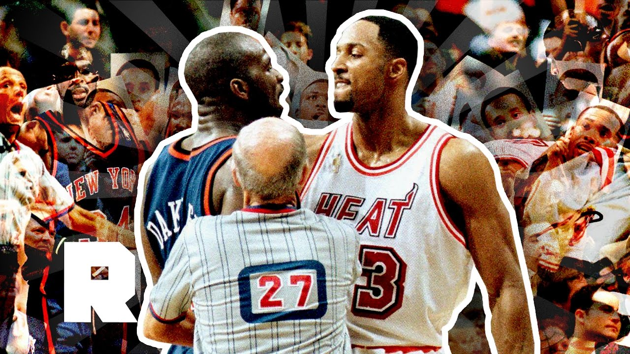 The 1997 Knicks-Heat Postseason Brawl  bf62ecec7