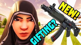 NEW Fortnite Submachine Gun | Content UPDATE 5.0 - Vaulted Item, Snow Biome? Gifting?