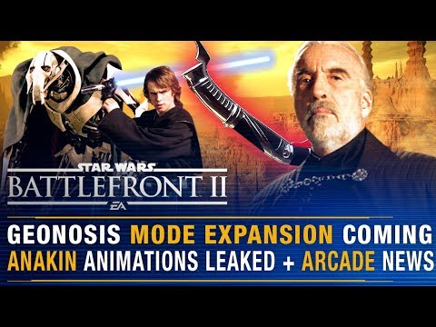 Geonosis Expansion Coming + Anakin Animations/Dooku Teased + Arcade News | Battlefront Update