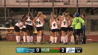 CTN SPORTS 2017 - Skyline @ Huron High School Field Hockey October 9