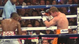 Canelo vs. Lara full fight from inside the arena