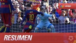 Resumen de FC Barcelona (6-0) Getafe CF