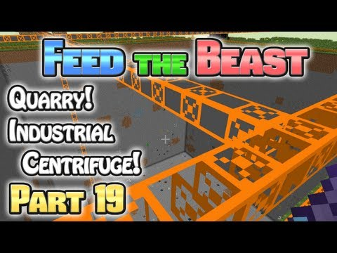 Minecraft FTB Hermitcraft Part 19: Quarry Story!