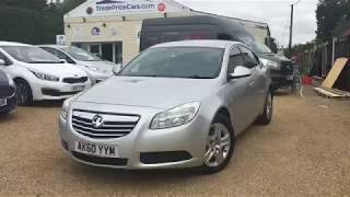 2011 VAUXHALL INSIGNIA 2.0 EXCLUSIV CDTI FOR SALE | CAR REVIEW VLOG