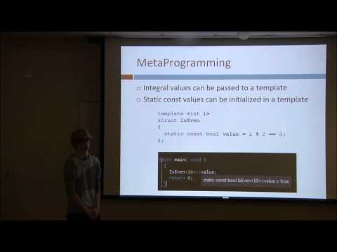 Templates and Metaprogramming