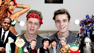 amazing impressions with caspar lee