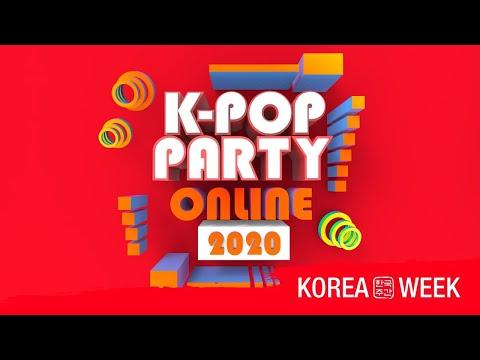 [LIVE] K-POP PARTY ONLINE 2020 - KOREA WEEK ONLINE 2020