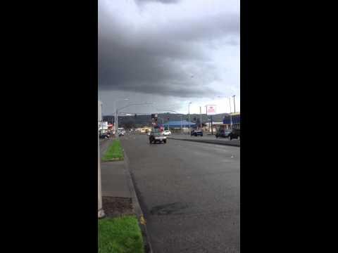 Tornado in Longview WA