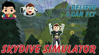 Super Cool Skydiving Simulator! See what Happens in Roblox!