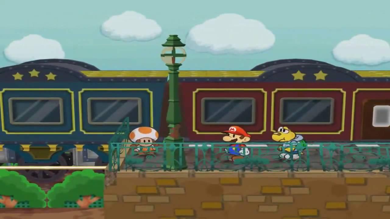 Paper Mario Gambling - Pianta Parlor