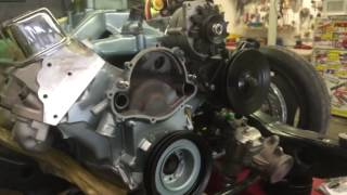 How to update 67 gto water pump