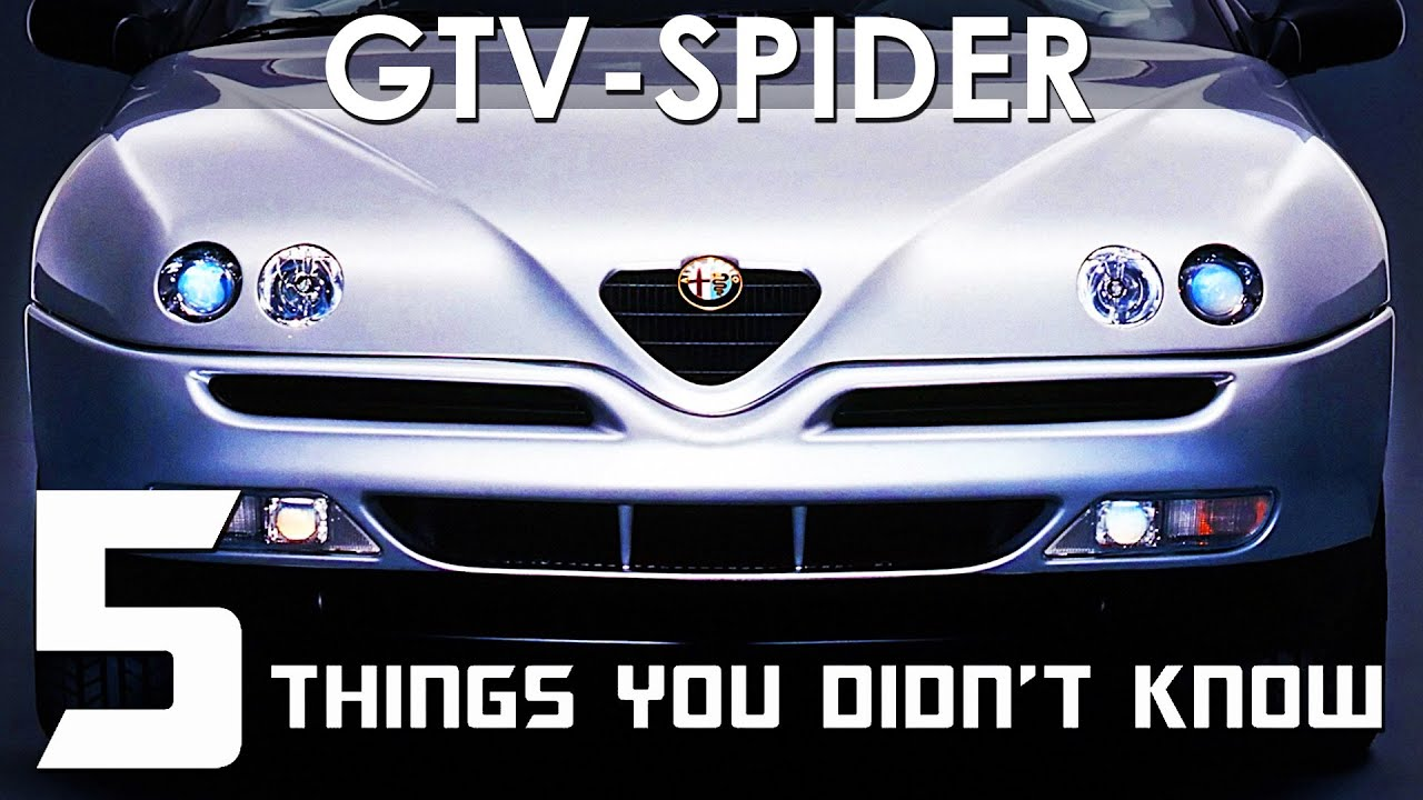 """Download 5 Things You Didn't Know About The Alfa Romeo GTV and Spider """"916"""""""