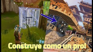 HOW TO BUILD IN FORTNITE | BUILD LIKE A PRO IN FORTNITE BATTLE ROYALE | GUIDE