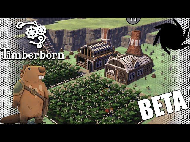 Timberborn Beta - Eager Beavers - Potatoes Are Not Wheat