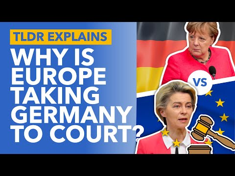 Germany vs EU: Why Europe is Taking Germany to Court to 'Save the EU' - TLDR News
