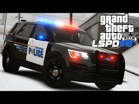 GTA 5 - LSPDFR - Ep 139 - Spike Strips!