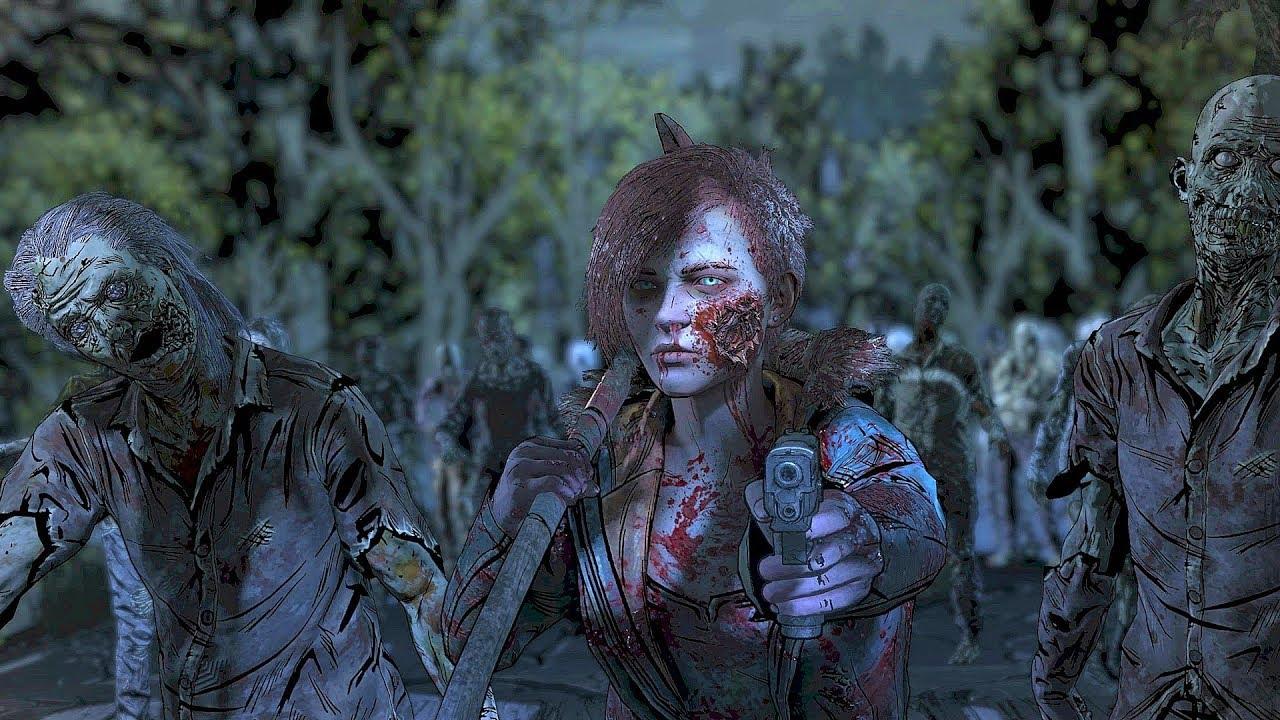 Download MINNIE GOES INSANE - Telltale The Walking Dead Final Season Episode 4