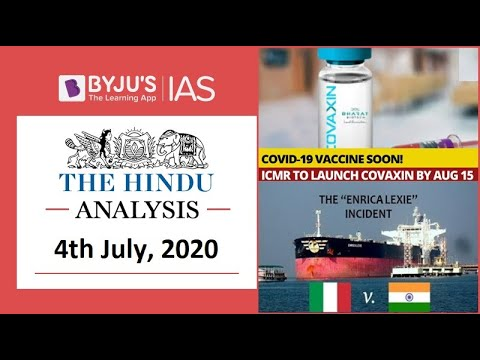 'the-hindu'-analysis-for-4th-july,-2020.-(current-affairs-for-upsc/ias)