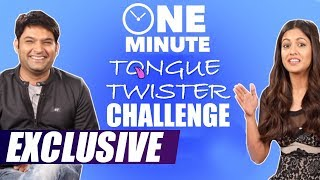 Firangi | One minute tongue twister challenge with Kapil Sharma and Ishita Dutta