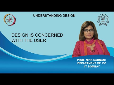 Design is concerned with the user