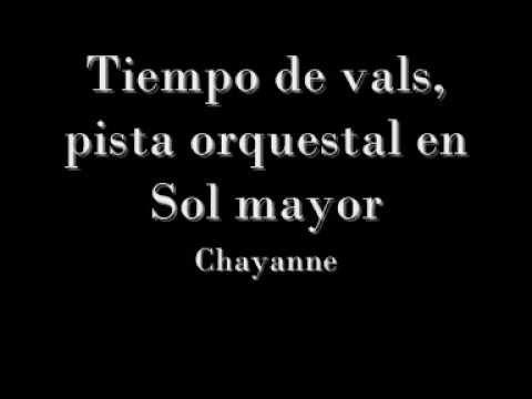Chayanne - Tiempo de vals pista instrumental